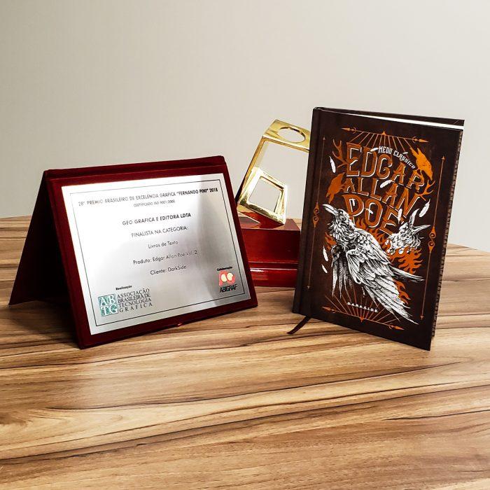 Edgar Allan Poe Vol. 2 Placa - Prêmio Fernando Pini
