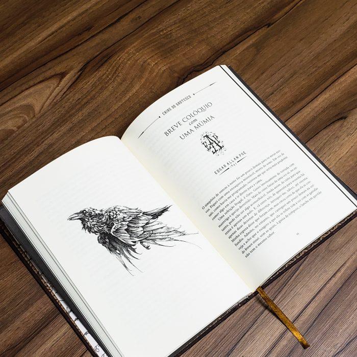 Edgar Allan Poe Vol. 2 aberto - Prêmio Fernando Pini
