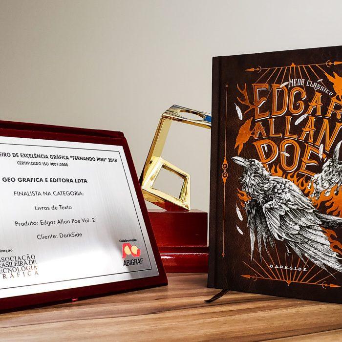Edgar Allan Poe Vol. 2 Detalhe - Prêmio Fernando Pini