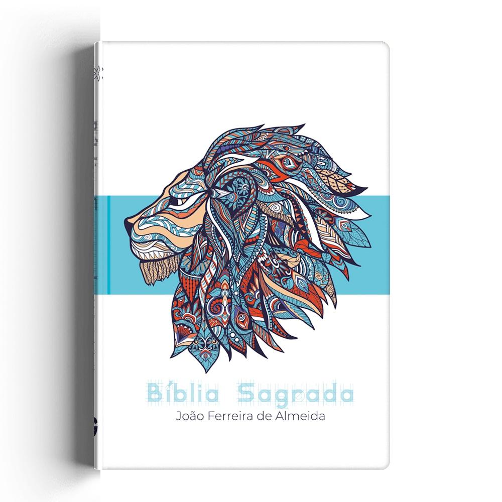 Biblia RC especial Azul leão